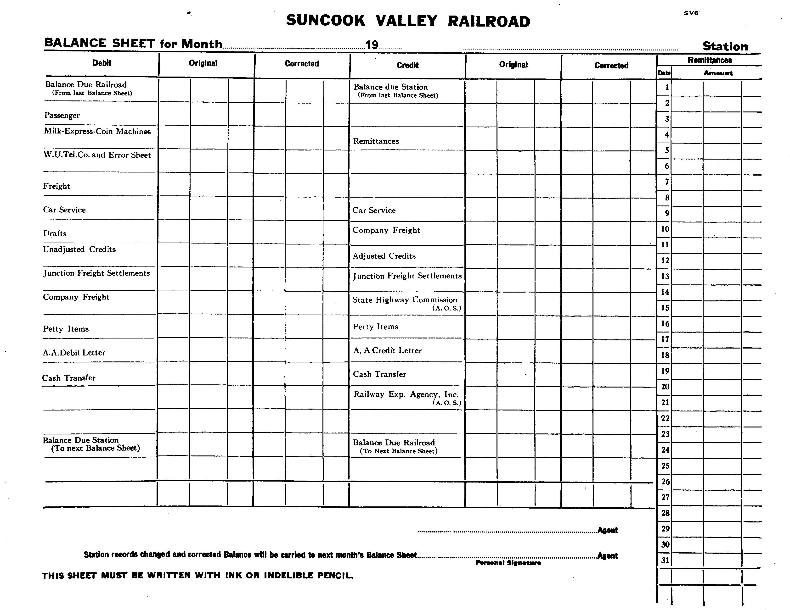 Empty Balance Sheet Pictures to Pin PinsDaddy – Balance Sheet Blank